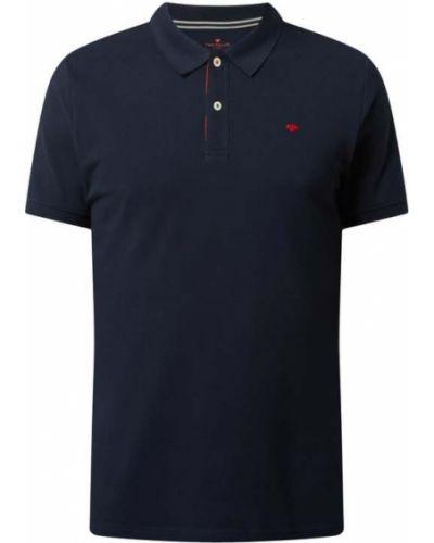 Niebieska koszulka krótki rękaw Tom Tailor