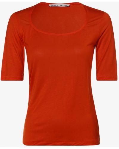 Czerwona t-shirt Tiger Of Sweden