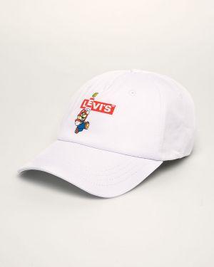 Czapka z logo czerwony Levi's