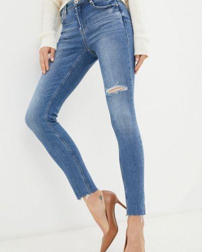 Синие зимние джинсы Miss Sixty