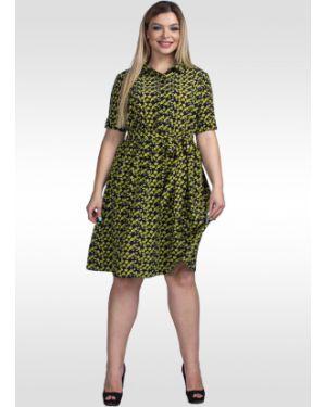 Платье на пуговицах платье-рубашка Lila Classic Style