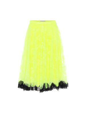 Sukienka dla wysokich kobiet z tiulu Christopher Kane