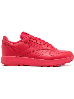 Красные кроссовки с вырезом с перфорацией Maison Margiela X Reebok