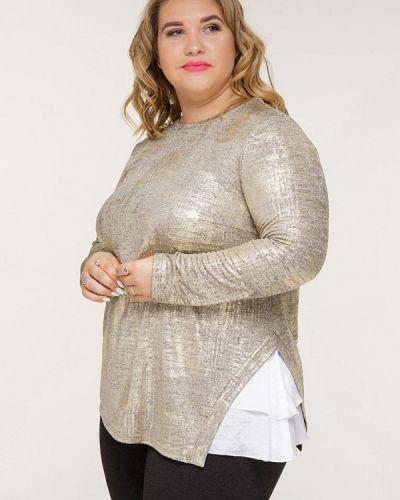 Блузка золотой Gorda Bella