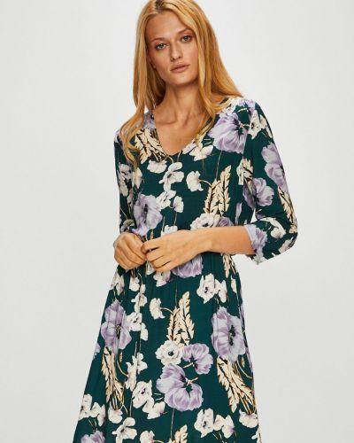 Платье миди с поясом из вискозы Jacqueline De Yong