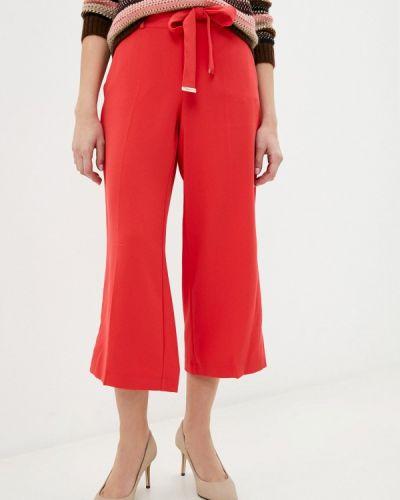 Красные брюки свободного кроя Taifun