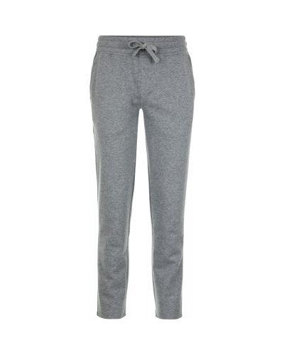 Спортивные брюки с карманами хлопковые Fila