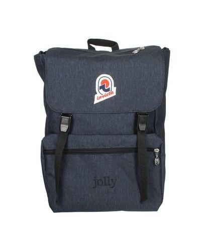Niebieski plecak Invicta