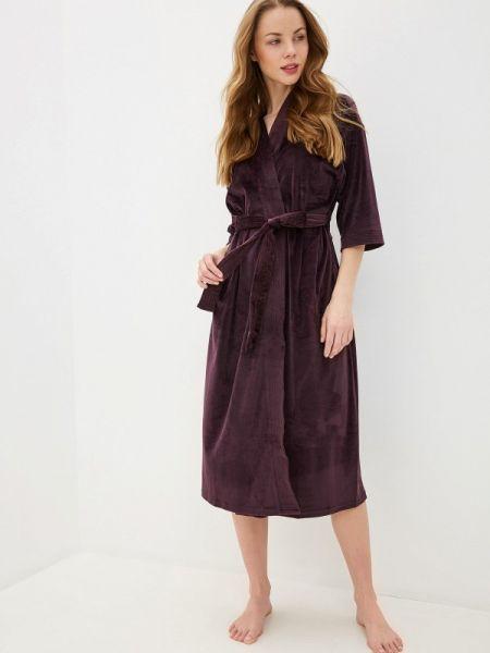 Домашний халат - фиолетовый Lelio