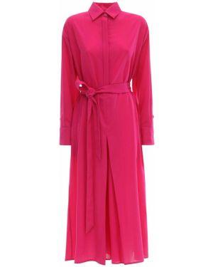 Платье макси с воротником с манжетами Ami Alexandre Mattiussi