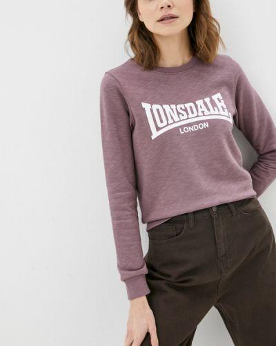 Фиолетовая свитшот Lonsdale