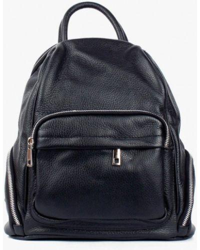 Кожаный рюкзак - черный Bella Bertucci