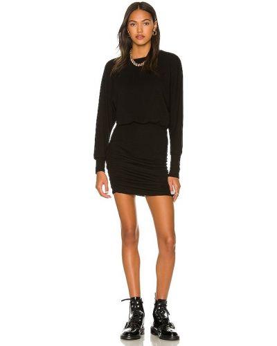 Платье с открытой спиной - черное Monrow