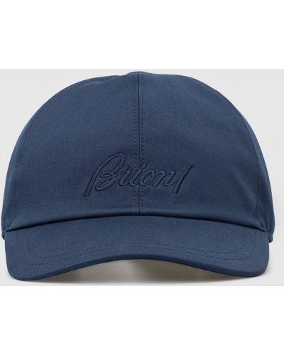 Синяя кепка Brioni