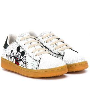 Белые кроссовки Moa Kids