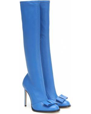 Wysoki buty zimowy w połowie kolana Victoria Beckham