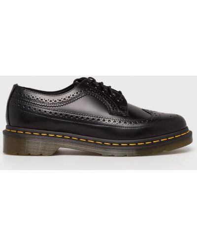 Туфли на шнуровке текстильные Dr. Martens