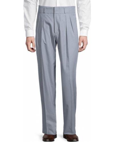 Spodnie z paskiem bawełniane Boss Hugo Boss