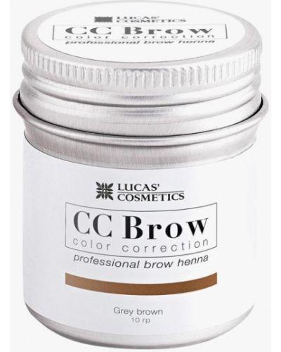 Краска для бровей, ресниц индийский серый Cc Brow