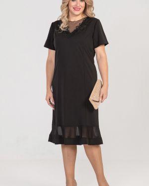 Вечернее платье сетчатое платье-сарафан Luxury
