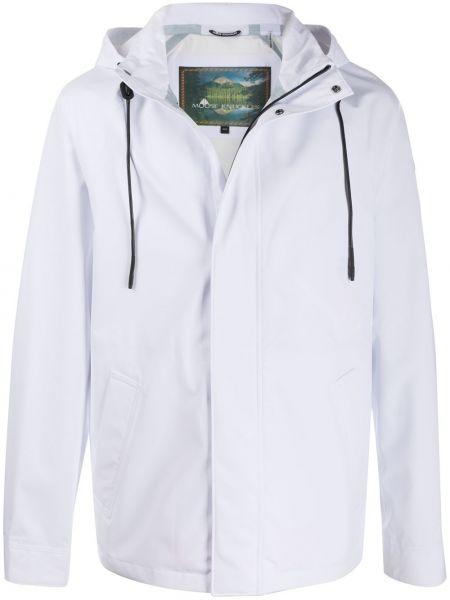 Куртка с капюшоном - белая Moose Knuckles