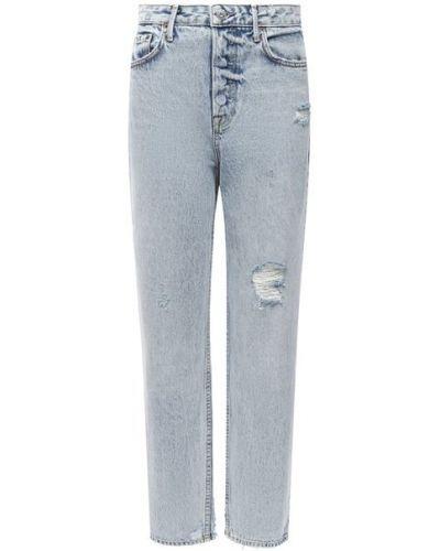 Хлопковые джинсы - синие Grlfrnd