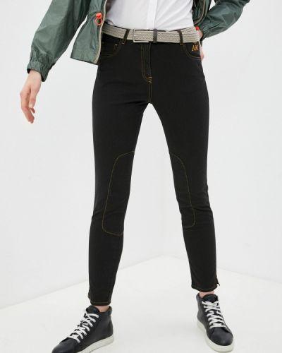 Повседневные черные брюки Aeronautica Militare