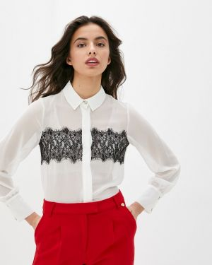 Блузка с длинным рукавом белая весенний Blugirl Folies