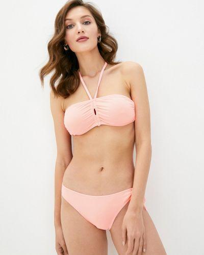 Розовый купальник бандо Delice