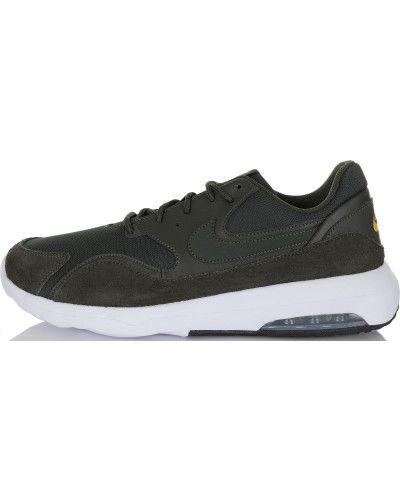 Черные кроссовки на шнуровке Nike