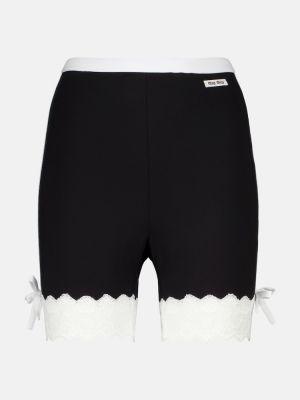 Хлопковые шорты Miu Miu