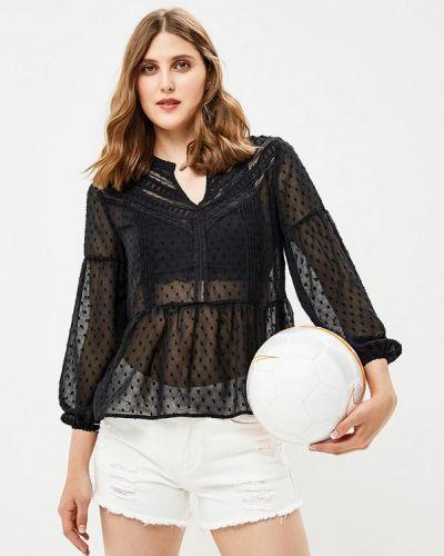 Черная блузка осенняя By Swan