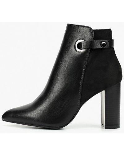 Кожаные туфли черные Ideal Shoes®