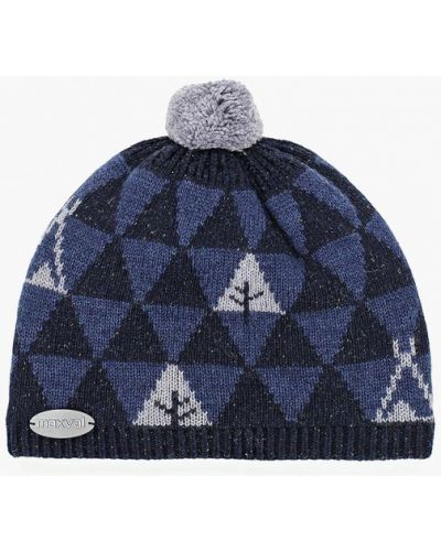 Синяя шапка Maxval