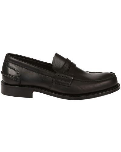 Loafers - czarne Churchs