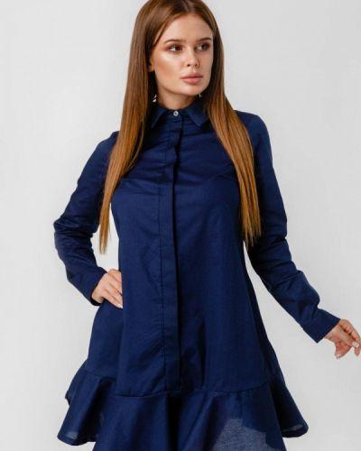 Платье платье-рубашка осеннее Lilove