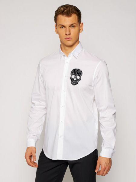 Biała biała koszula Just Cavalli