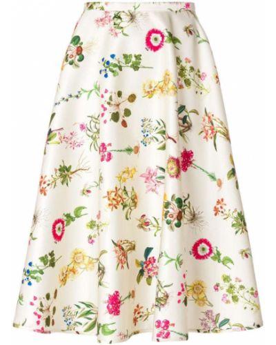 Юбка с цветочным принтом с принтом N21
