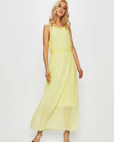 Платье макси однотонное прямое Haily's
