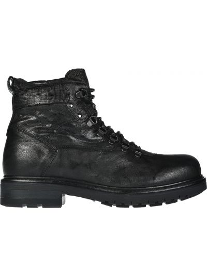 Кожаные ботинки осенние черные Nero Giardini
