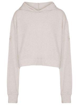 Prążkowana biała bluza na co dzień Alo Yoga
