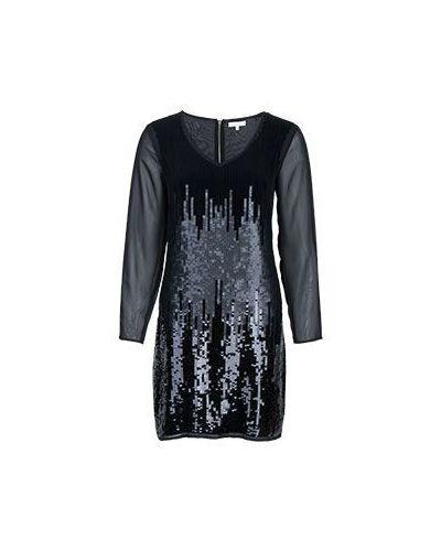 Вечернее платье с вышивкой с V-образным вырезом Patrizia Pepe