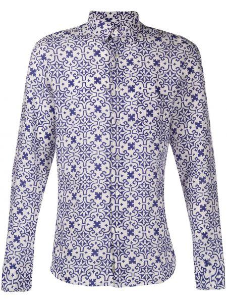 Koszula z długim rękawem wyposażone z kieszeniami Peninsula Swimwear