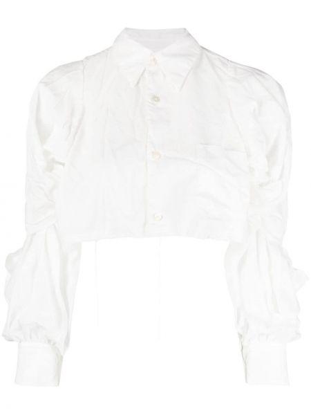 Белая классическая рубашка с воротником на пуговицах Comme Des Garçons Comme Des Garçons
