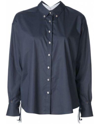 Синяя рубашка на пуговицах Le Sarte Pettegole