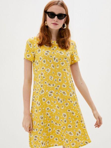 Платье прямое весеннее Defacto