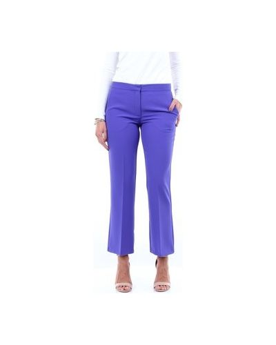 Fioletowe spodnie Maesta