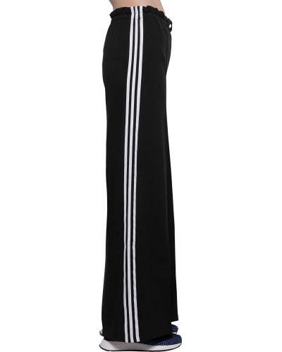 Спортивные брюки с завышенной талией с защипами Adidas Originals