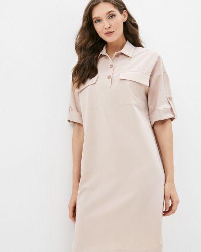 Платье рубашка - бежевое Grafinia