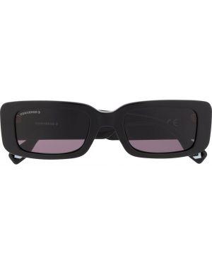Прямые черные солнцезащитные очки прямоугольные Converse